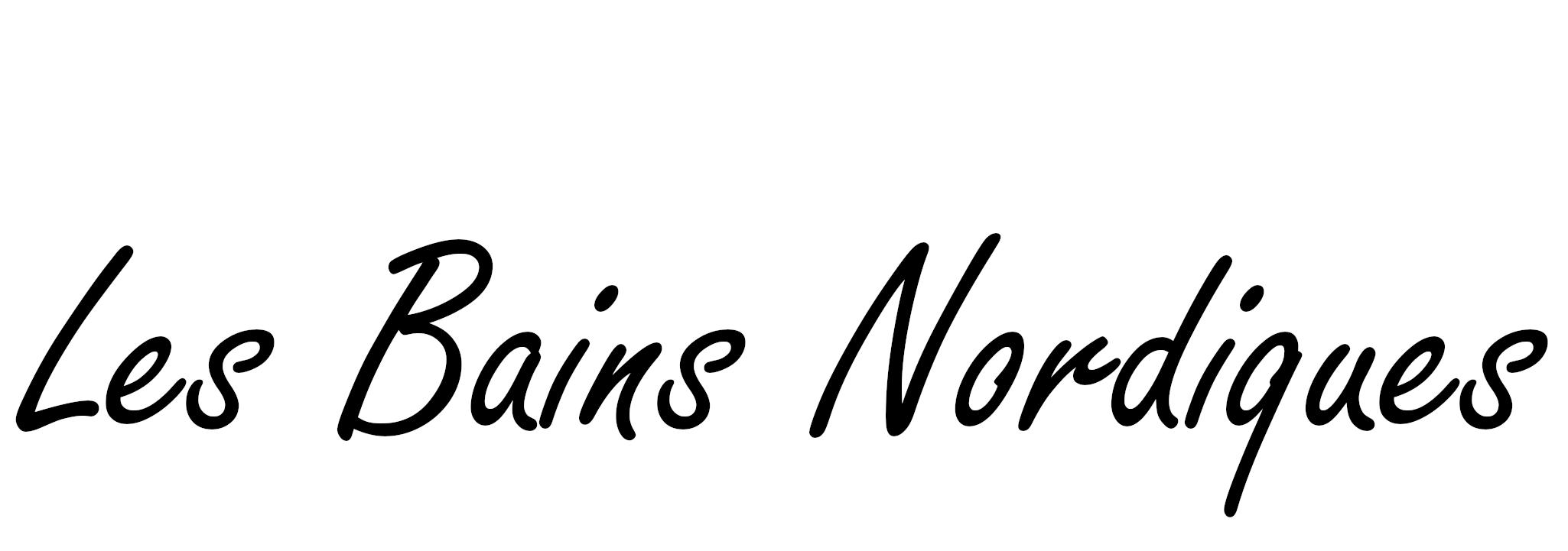 Logo LES BAINS NORDIQUES haute résolution